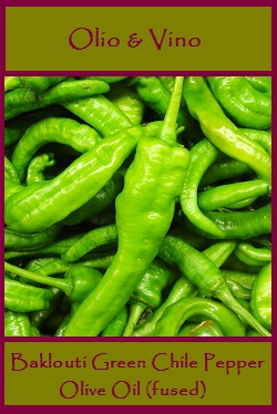 Baklouti green Chile Lable