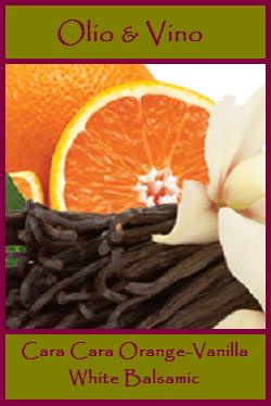 Cara Cara Orange Vanilla Label