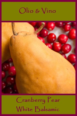 cranberry pear label