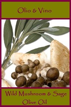 Wild Mushroom & Sage Lable
