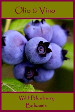 wild blueberry label