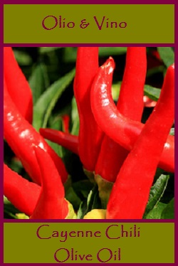 Cayenne Chili lable