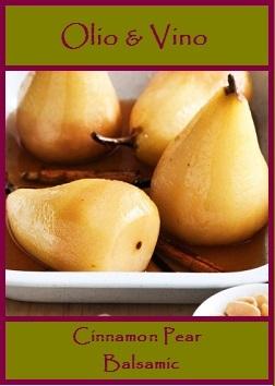 cinnamon pear label