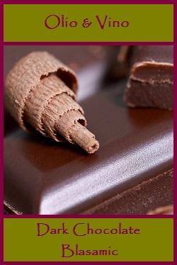 dark chocolate lable