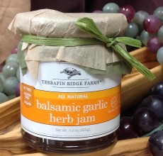 Balsamic Garlic & Herb Jam